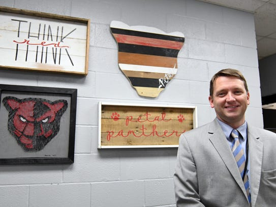 Rob Knight is in his first year as principal of Petal High School, the ninth-ranked high school in the state. He was principal at Petal Upper Elementary last year.