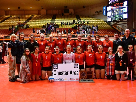 Third-place Chester Area Flyers