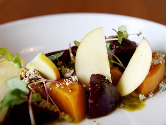 Foothills Butcher Bar's roasted beets and apple small