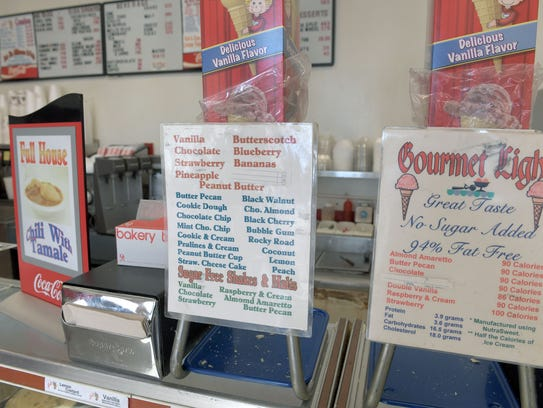 Jim Brackett, a part owner of Kay's Ice Cream, said