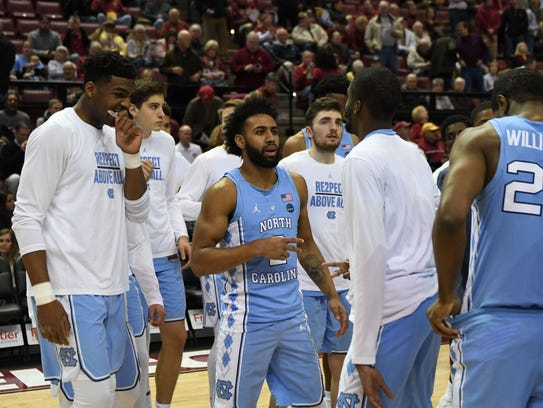 The Tar Heels came into the Tucker Center ranked 12th