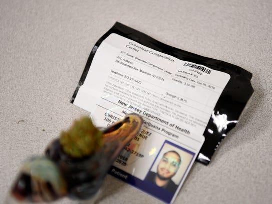 Christian Velasquez picked up medical marijuana from
