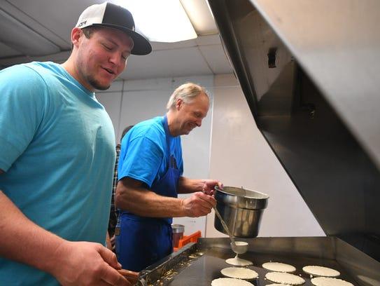 Brad's Food Hut in Cedar City hosted a pancake-breakfast