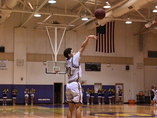 Guard Jarrett Edria is one of three players from the Salinas Cowboys' team to make it to the South roster for the 11th Annual Salinas Steinbeck Rotary All-Star Basketball game.