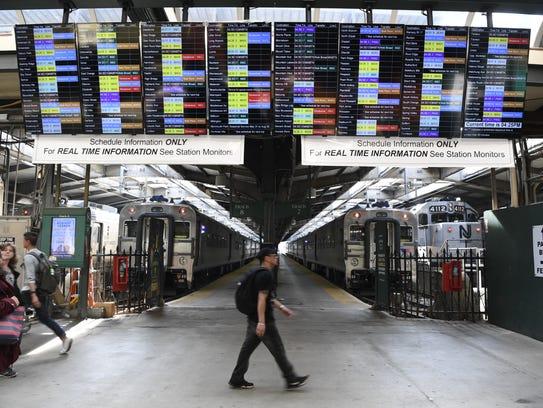 NJTransit held a customer forum to alert riders of