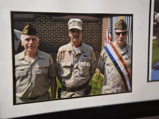 "A photo of former Staff Sgt. Robert ""Wayne"" Johnson,"