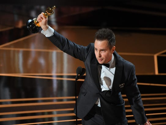 Sam Rockwell, who won the supporting-actor Oscar for