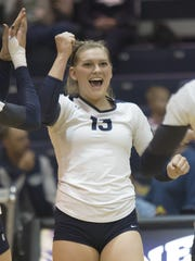 Madison Morell helped turn around the Wolf Pack volleyball