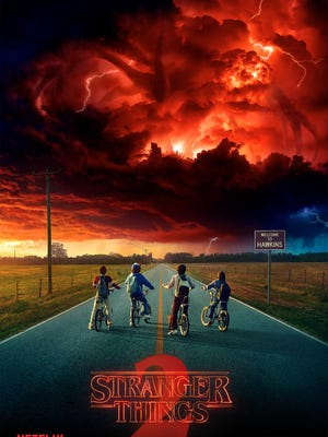 The first official poster for 'Stranger Things' Season 2.