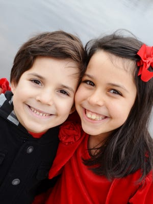Sophia, 9, and Caden, 7, of Marlton both have many food allergies and they are quite severe.