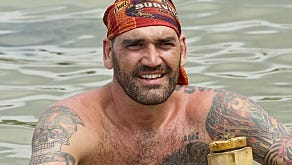 """Scot Pollard, former Indiana Pacers player, is part of the Brawn clan on the new season of """"Survivor."""""""