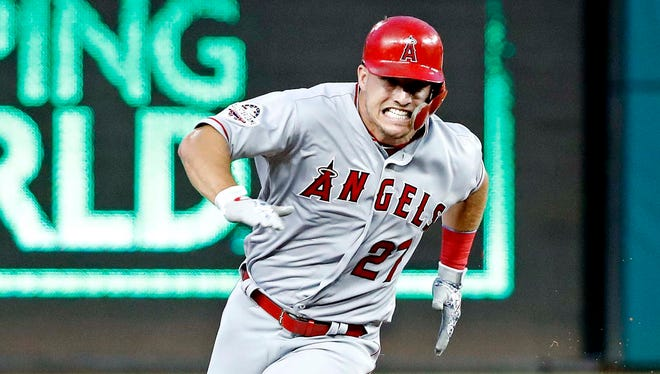 Trout homered in Tuesday night's All-Star Game.
