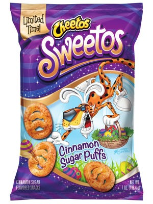 Cheetos is tapping into the Easter market with Sweetos.