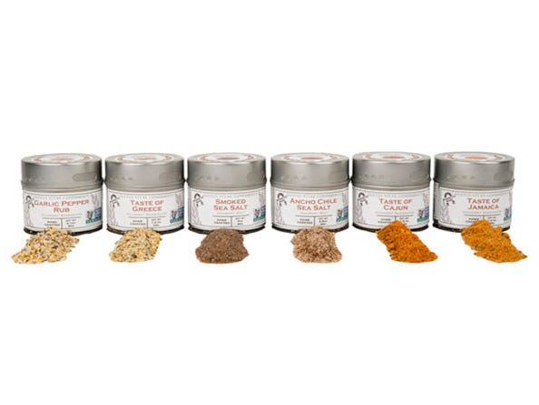 Members get over 33% off this collection of flavorful salts and spices for your next BBQ.
