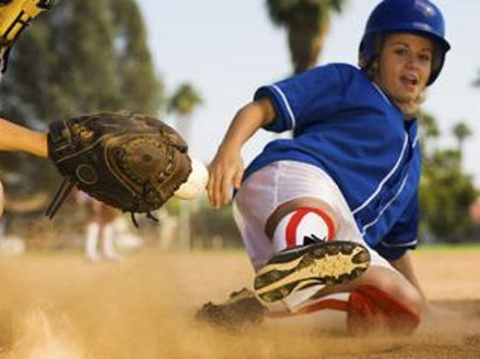 Softball slide