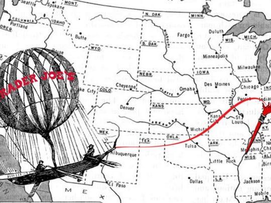 Trader Joe's Germantown location map