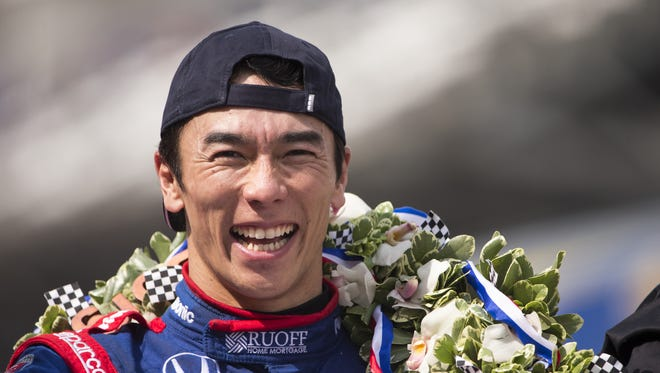 Takuma Sato, driving for Rahal Letterman Lanigan Racing, is in his ninth season. He has two race wins, including the 2017 Indianapolis 500.