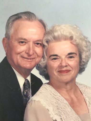 Bill and the late Dorothy Mangum Breland