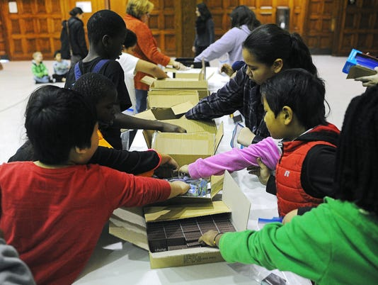 Homeless Kits at the Multi-Cultural Center
