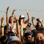 INDIO, CA - APRIL 14:  Coachella music fans attend day 3 of the 2013 Coachella Valley Music & Arts Festival at the Empire Polo Club on April 14, 2013 in Indio, California.  (Photo by Kevin Winter/Getty Images for Coachella)