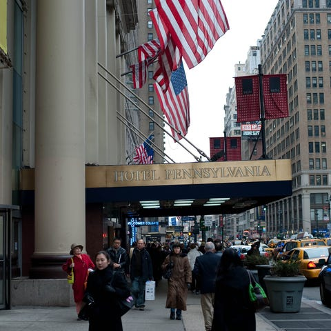 One of the largest hotels in New York City, Hotel...