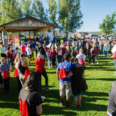 Out of the Darkness: Suicide prevention, support for one a focus of Cedar City walk