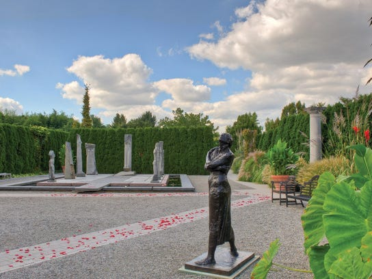 Grounds for Sculpture in Hamilton Township.