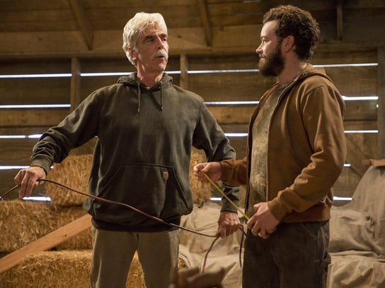 Sam Elliott, left, and Danny Masterson star in the
