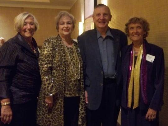 (L to r) Sandra Dyer, Cheryl and Jan Johnsen, Patricia Holvick.