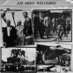 Charles A. Lindbergh and the Spirit of St. Louis landed at Lunken Field on Aug. 6, 1927, a few months after his historic transatlantic flight.