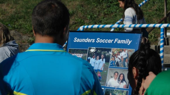 Longtime Saunders girls soccer coach Carlo Mitrione
