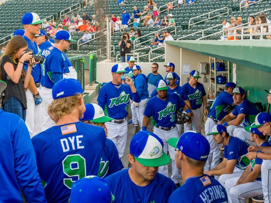 FGCU hasn't yet played in JetBlue Park (the Eagles will vs. Florida on Tuesday night), but has faced Miami five times and Florida twice in Hammond Stadium, the spring home of the Minnesota Twins. The Eagles haven't won any of those matchups.
