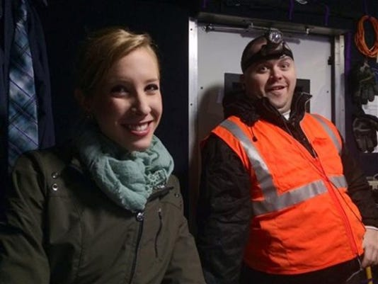 This undated photograph made available by WDBJ-TV shows reporter Alison Parker, left, and cameraman Adam Ward. Parker and Ward were fatally shot during an on-air interview, Wednesday, Aug. 26, 2015, in Moneta, Va. Authorities identified the suspect as fellow journalist Vester Lee Flanagan II, who appeared on WDBJ-TV as Bryce Williams. Flanagan was fired from the station in 2013.