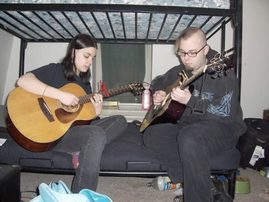 Tara Seaks and Caleb Banas are members of metal band The Ghost of Hannah, but decided to start their own acoustic side project, pillbelly, for a different creative outlet. And, yes, the P is lowercase on purpose, folks.