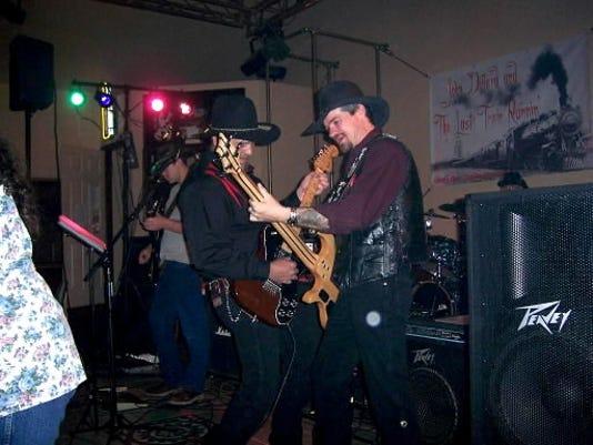 Country band John Dillard and The Last Train Runnin.