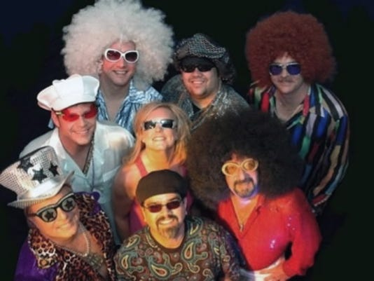 Echelon is made up of eight musicians from the York and Harrisburg area. They specialize in big productions and big hair.