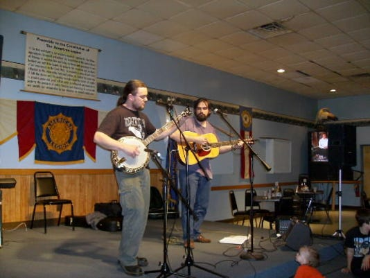 Matt Baldwin and Chad Flaharty of Lost Generation Bluegrass along with Mendon Kissling (not pictured) blend classic rock into fast-paced banjo jams.