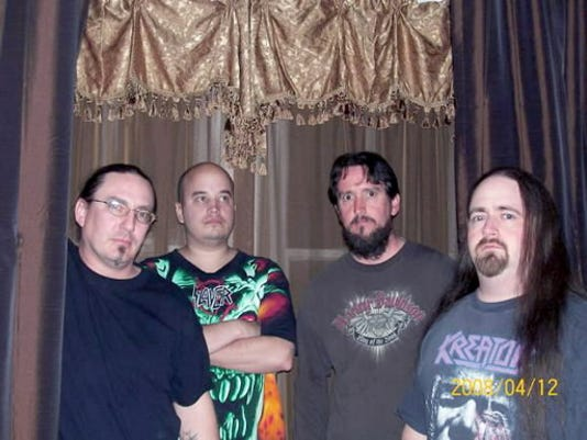 In between full-time jobs and mortgage payments, local metal quartet Sworn to None is looking to record an album soon.