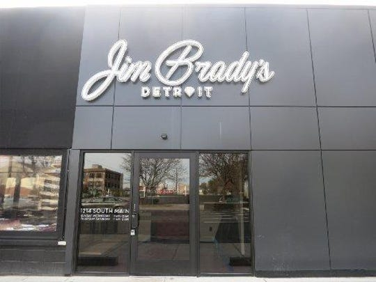 Jim Brady's Detroit on South Main in Royal Oak opened Monday in the former Oxford Inn, now redone.
