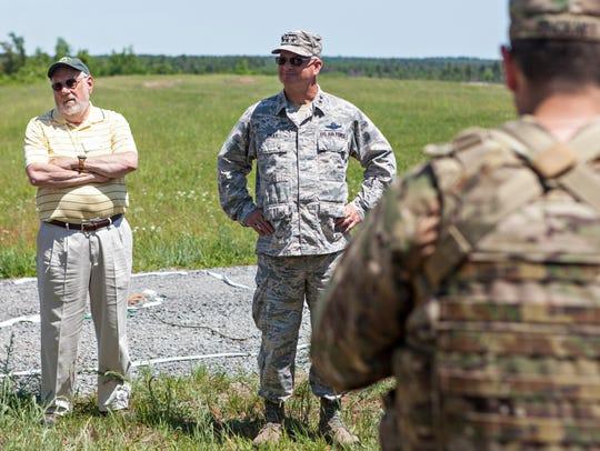Vermont National Guard commander Maj. Gen. Steven Cray,