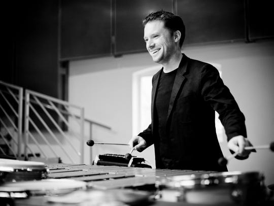 Percussionist Colin Currie will be featured April 12-13,