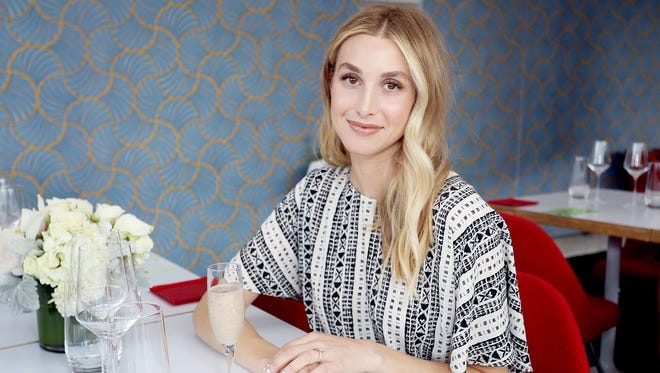 Whitney Port hosts The Cancer Nutrition Consortium celebration launch of Hormel Vital Cuisine products at LACMA.