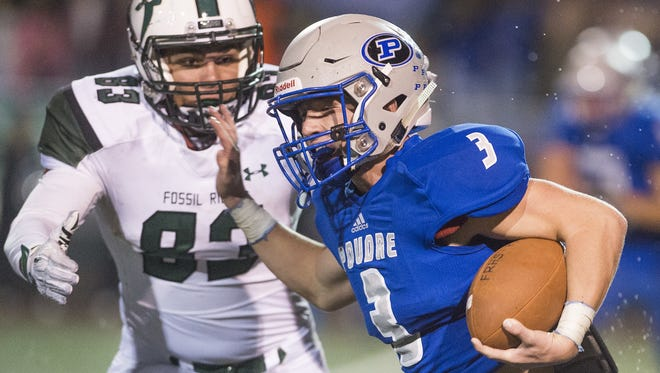 Poudre High School's Dylan Marsh will continue his football career at Division II Chadron State College.