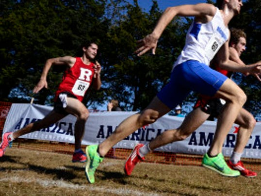 Chris DeFabio, a senior from Watchung Hills who placed 26th in the American Athletic Conference and 101st in the NCAA Mid-Atlantic regional, is the top Rutgers men's cross country returner. (Photo courtesy of American Athletic Conference)
