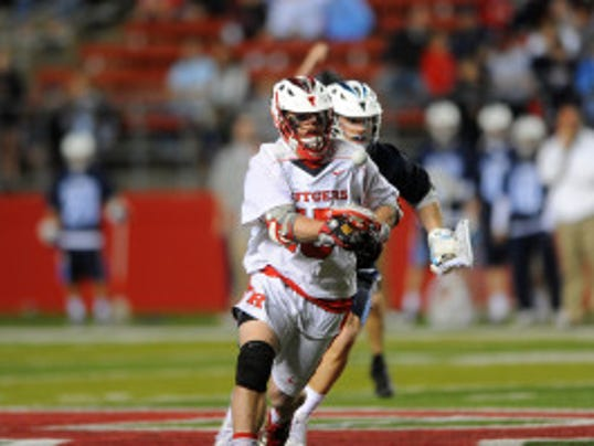 Rising senior Joe Nardella finished fourth nationally with 9.79 ground balls per game and fifth nationally with a .632 face-off winning percentage last season. (Courtesy of Rutgers athletics)