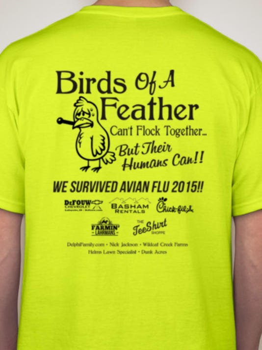 avian flu shirt