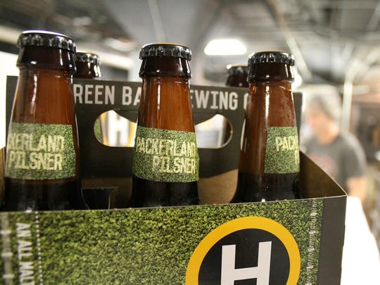 Hinterland Brewing's Packerland Pilsner is making a comeback.