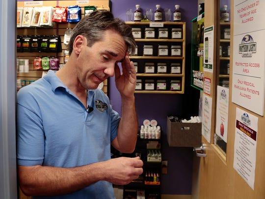 Mitch Woolhiser, owner of Northern Lights Cannabis