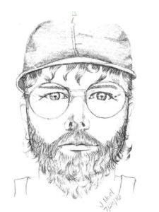 The depiction of a man wanted in connection with an Elsmere sexual assault.