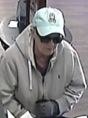Pasadena bank robbery suspect
